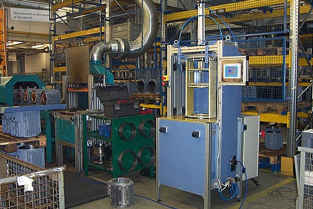Zařízení pro ohřev Al koster elektromotoru H 160