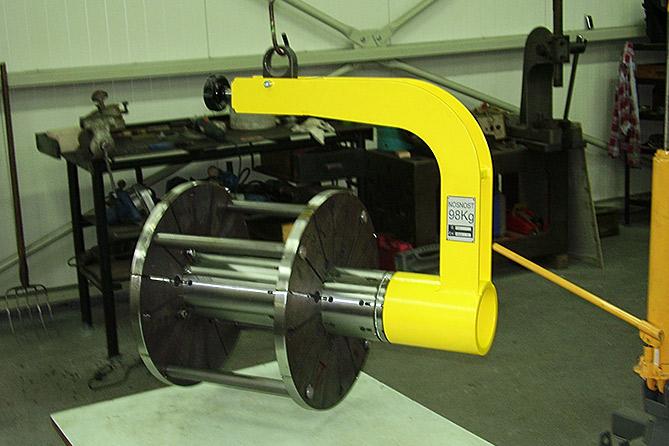 Upínací přípravek pro obrábění koster elektromotoru